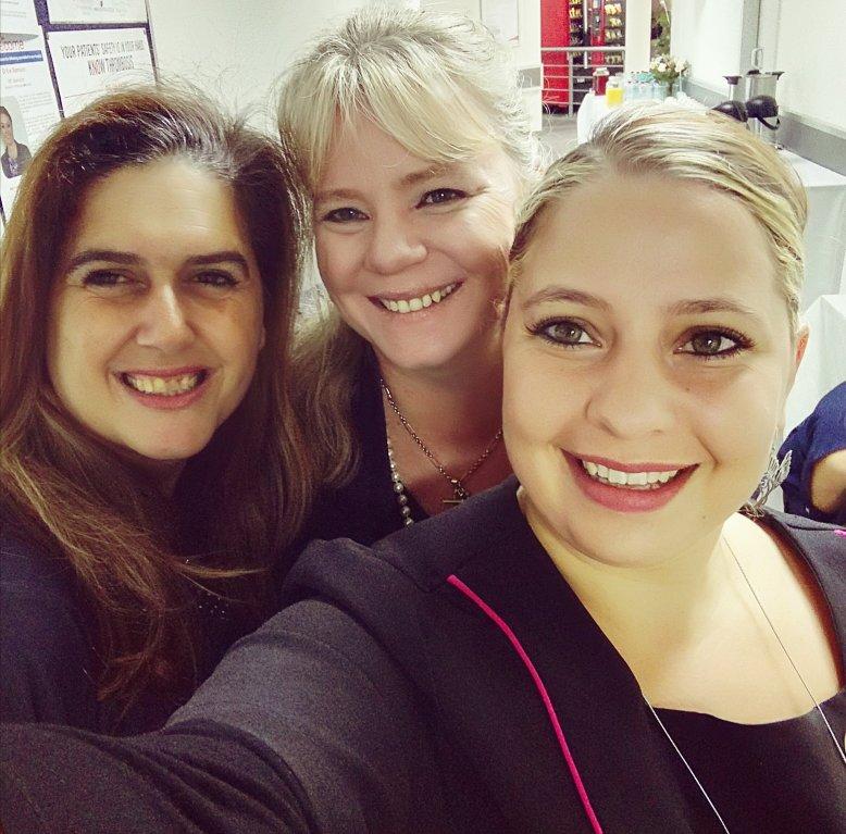 Emma Nummanoglu, Lindsay Donnachie and me